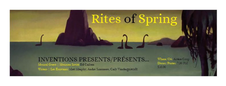 Rites of Spring Banner