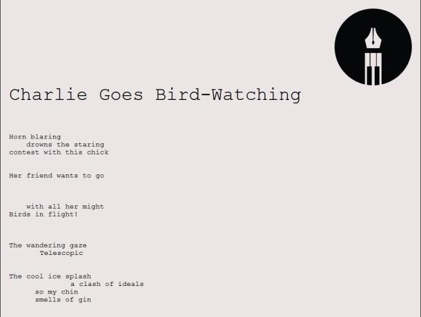 charlie-goes-bird-watching